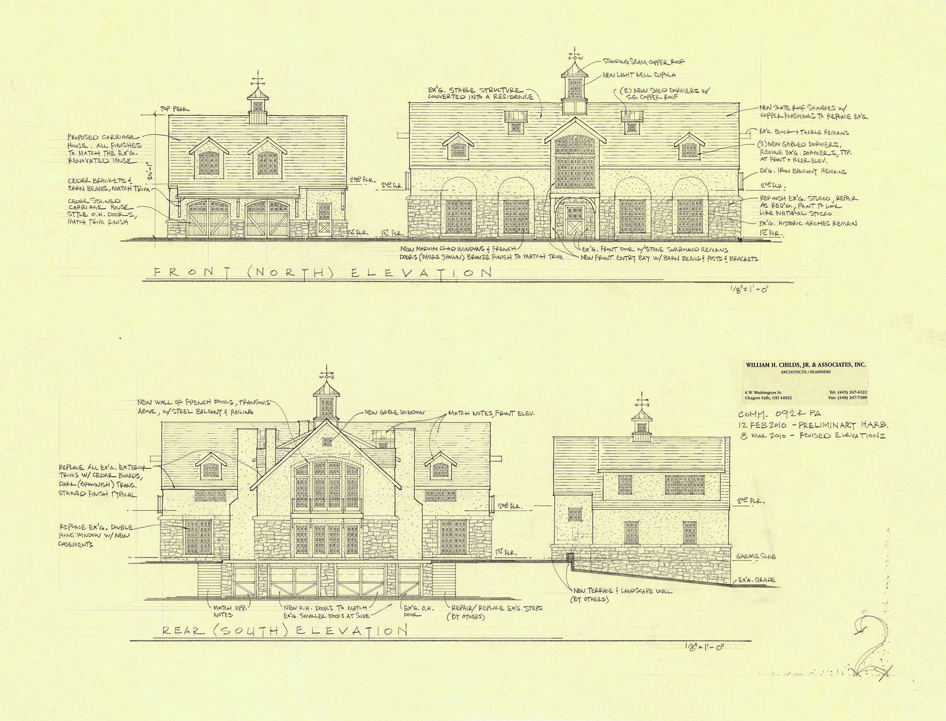 On The Boards Wh Childs Jr Associates Inc Cupola Schematic Back To List